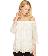 Karen Kane - Off the Shoulder Embroidery Top