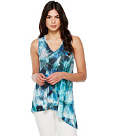 Karen Kane - Sea Glass Asymmetric Tank Top