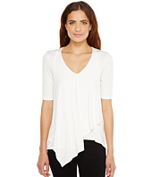 Karen Kane - Pencil Sleeve Drape Tee