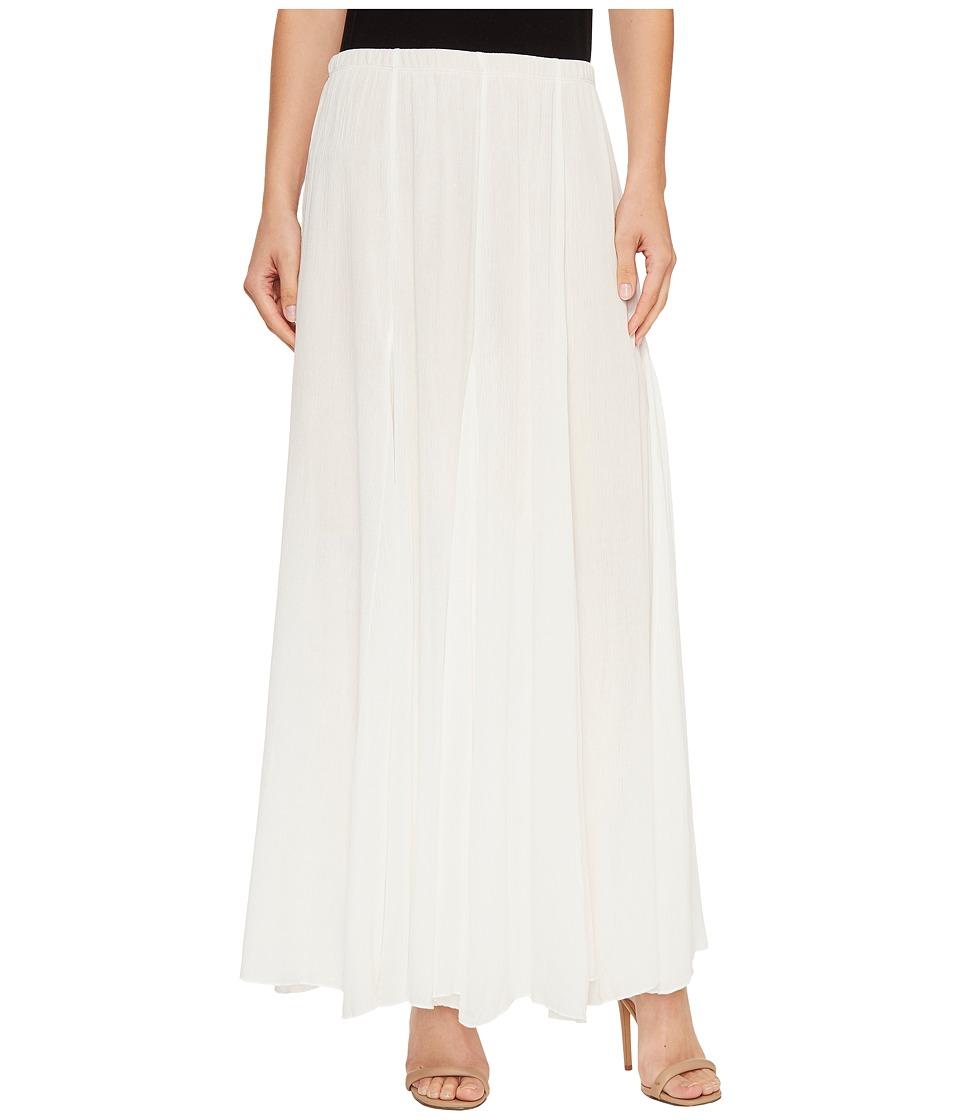 Karen Kane Maxi Skirt (Off-White) Women