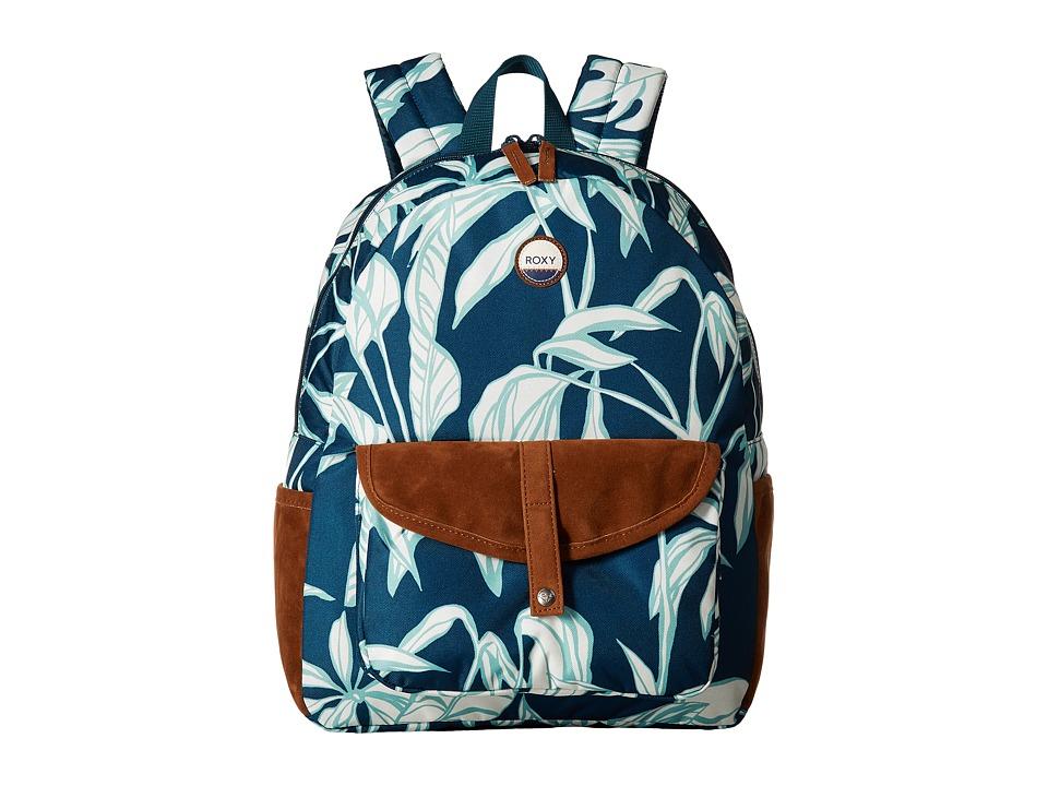 Roxy Caribbean Backpack (Reflective Pond Java Life) Backp...