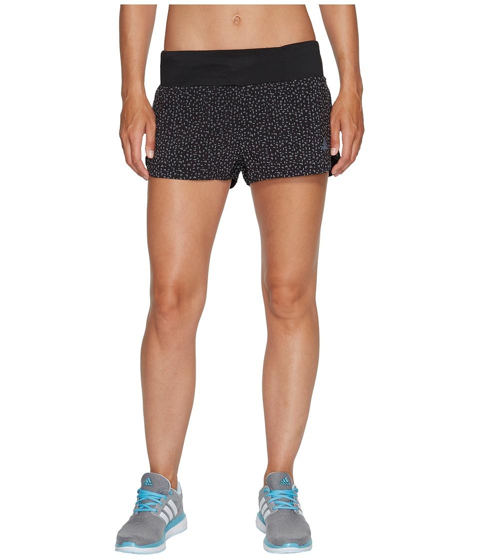 adidas - Supernova Glide Shorts (Black) Women's Shorts