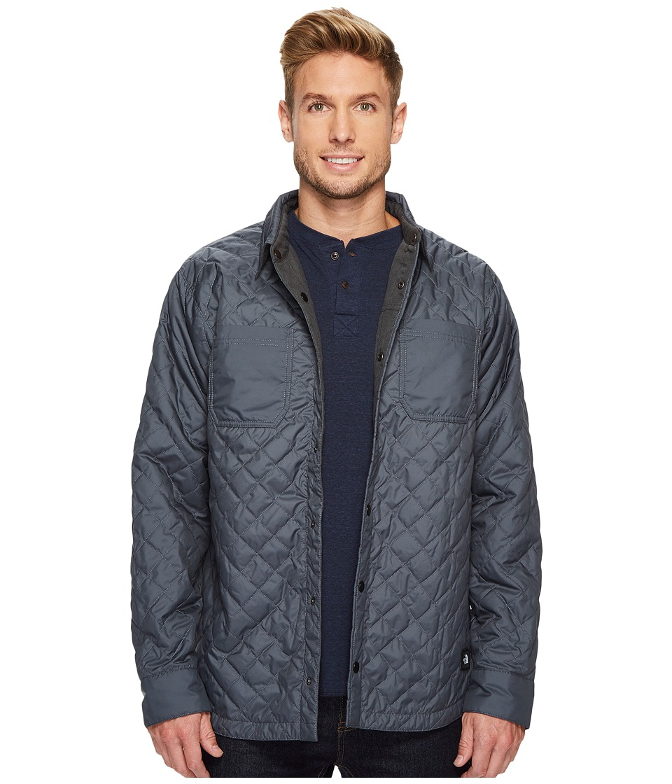 The North Face Fort Point Insulated Flannel (Turbulence Grey) Men