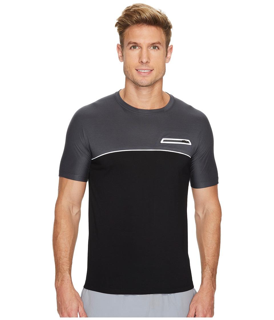 ASICS fuseX Short Sleeve Top (Dark Grey) Men