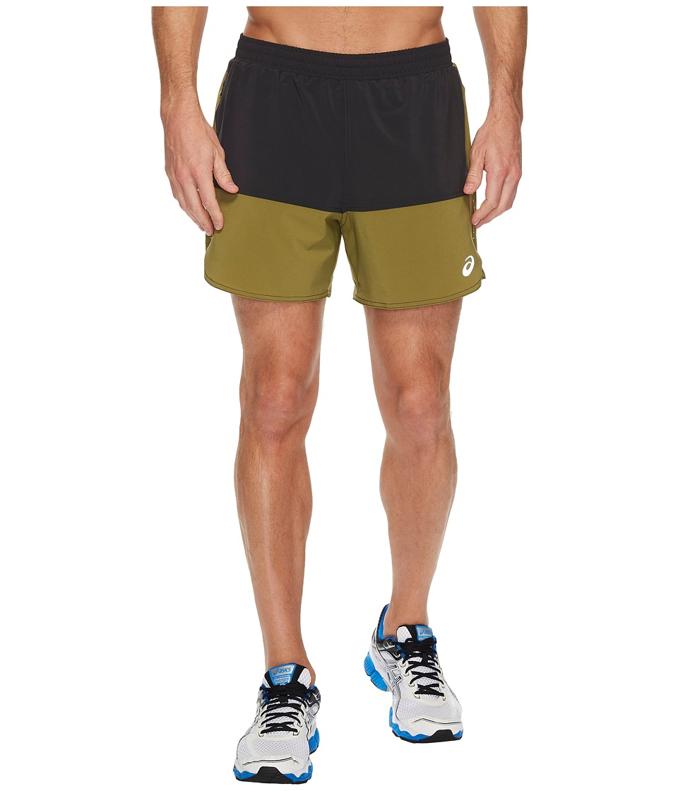 ASICS Everyday 5 Shorts (Everest/Martini Olive) Men