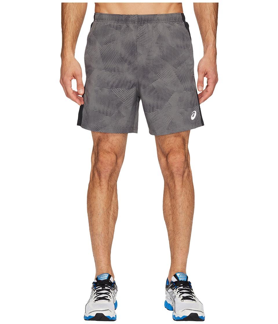 ASICS 2-N-1 Woven 6 Shorts (Castlerock Atmosphere/Performance Black) Men