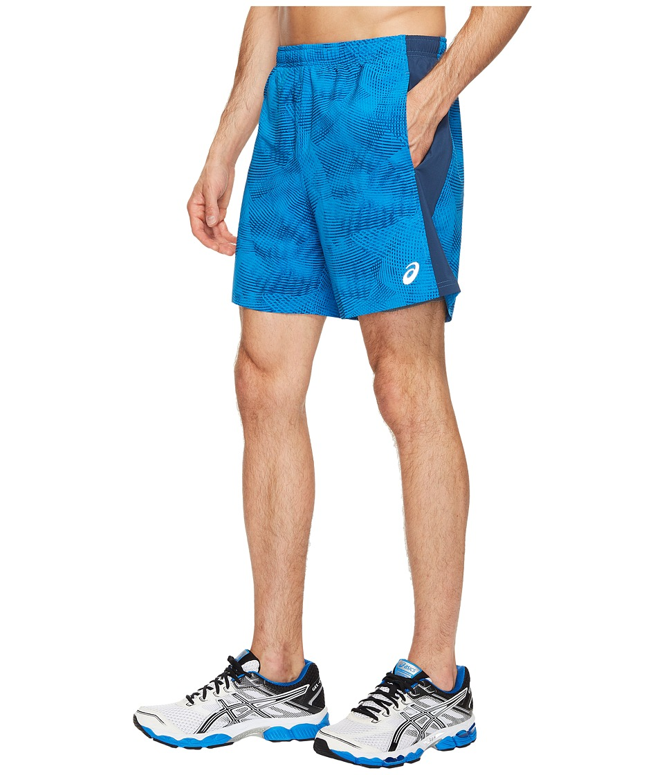 ASICS 2-N-1 Woven 6 Shorts (Directoire Blue Atmosphere/Insignia) Men
