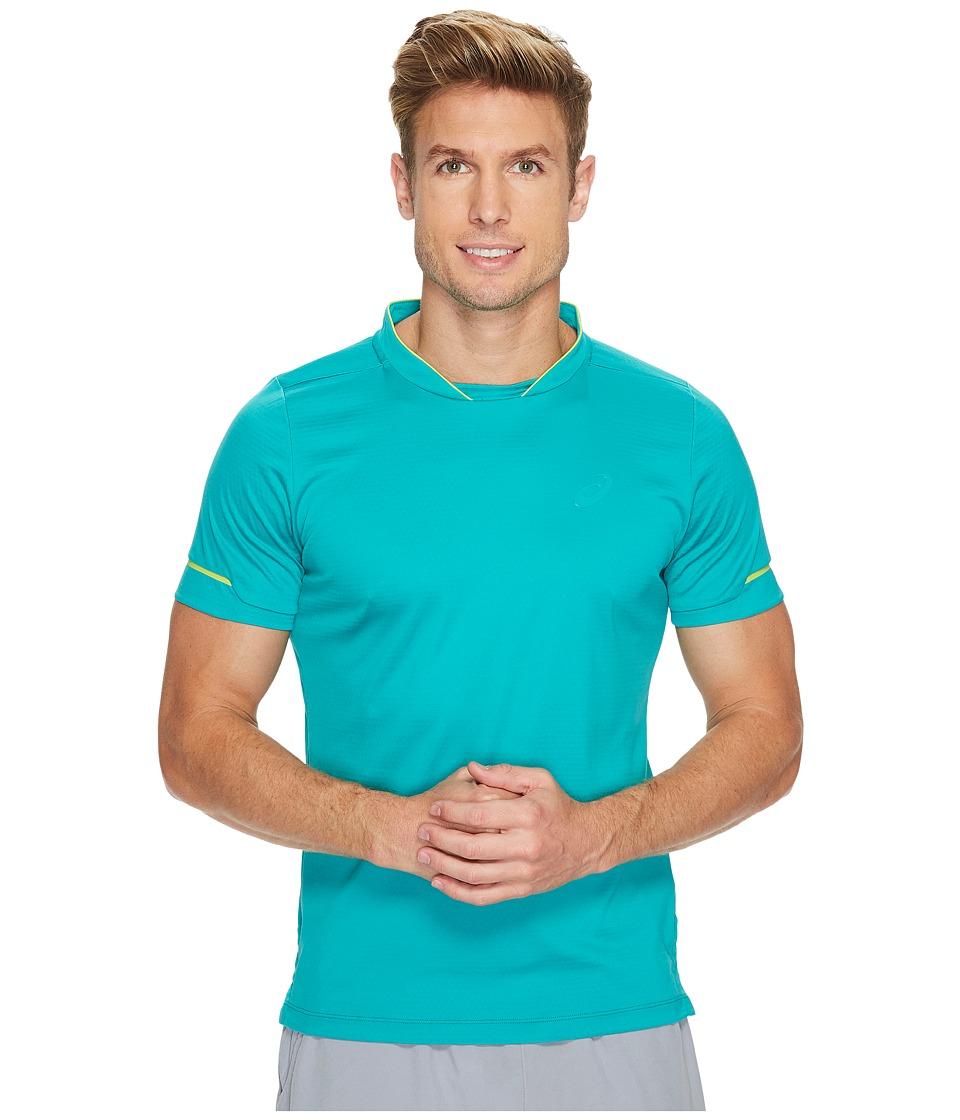 ASICS Athlete Short Sleeve Top (Lapis) Men