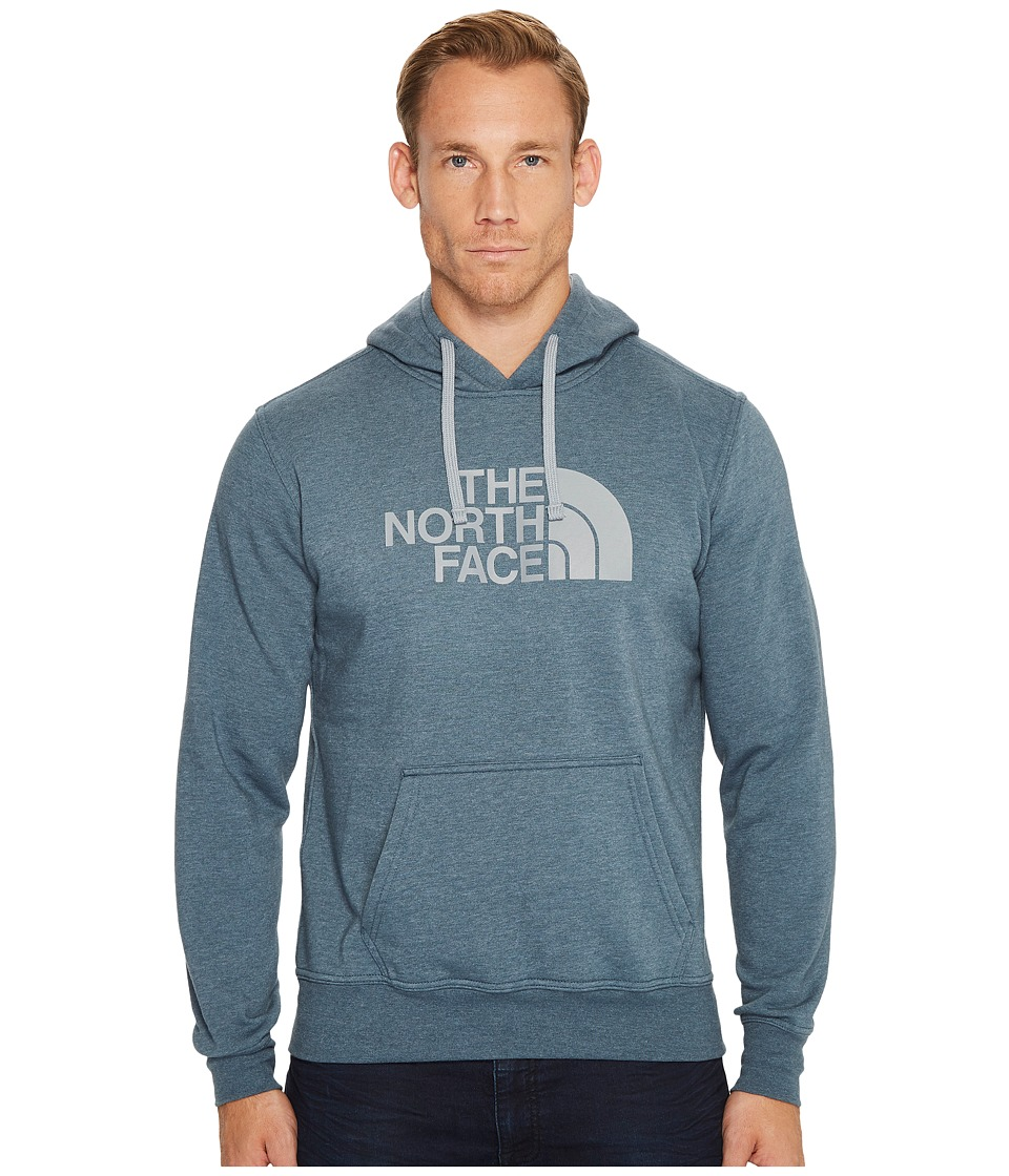The North Face Half Dome Hoodie (Conquer Blue Heather/Monument Grey) Men