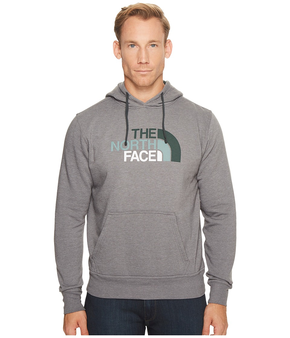 The North Face Half Dome Hoodie (TNF Medium Grey Heather/Darkest Spruce Multi) Men