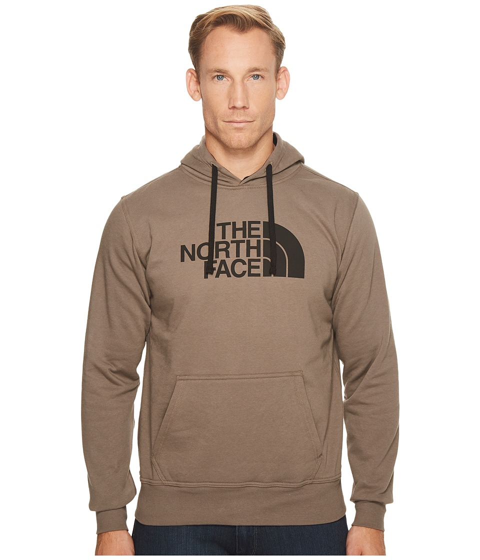 The North Face Half Dome Hoodie (Falcon Brown/TNF Black) Men