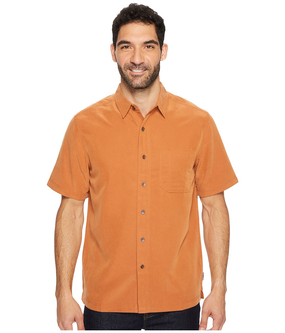 Royal Robbins Desert Pucker S/S (Glazed Ginger) Men