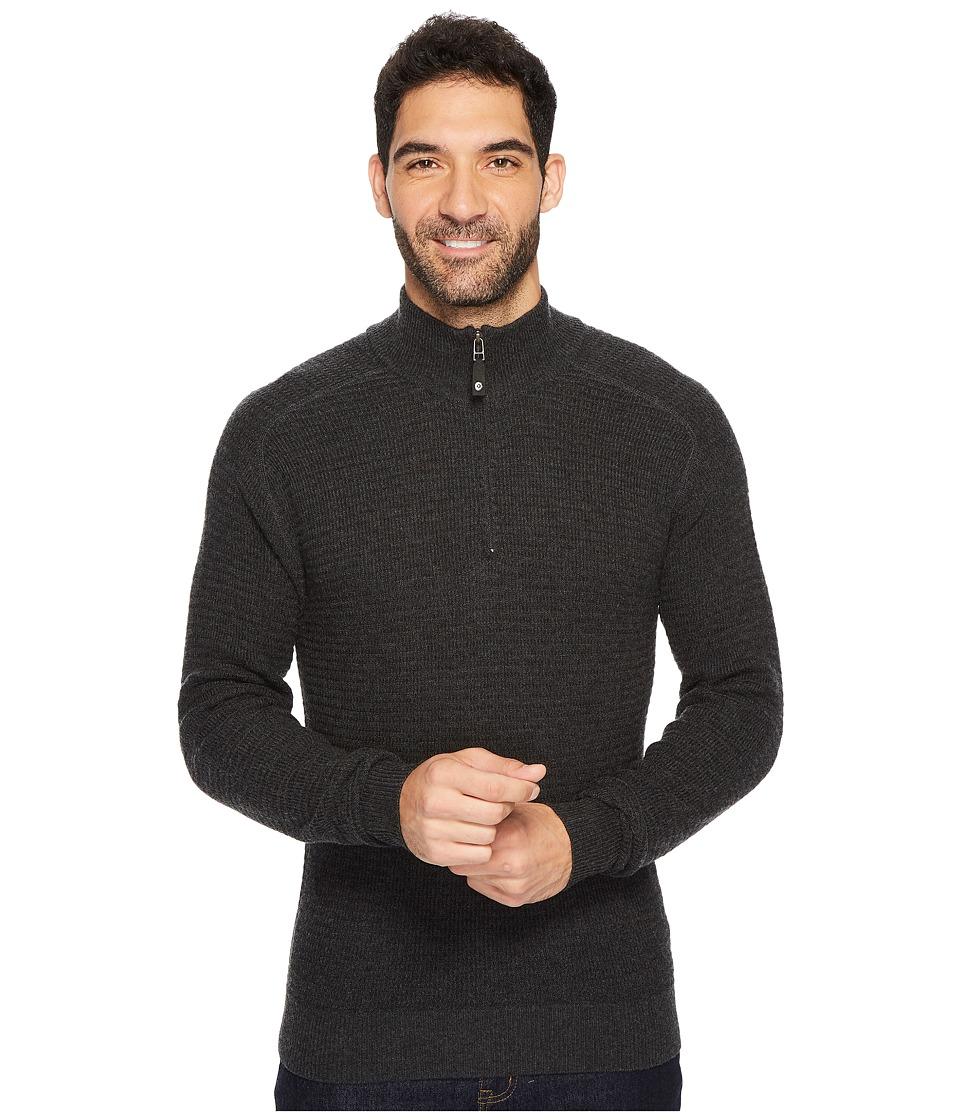 Royal Robbins All Season Merino Thermal 1/4 Zip (Charcoal) Men