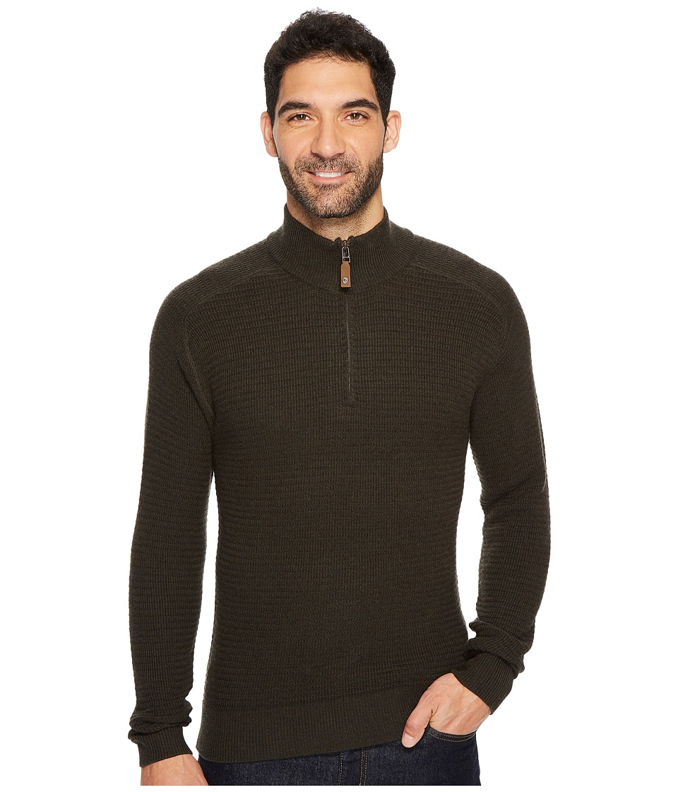 Royal Robbins All Season Merino Thermal 1/4 Zip (Loden) Men