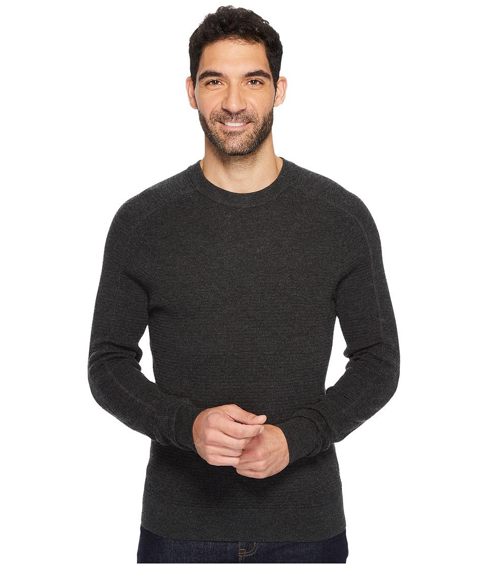 Royal Robbins All Season Merino Thermal Crew Sweater (Charcoal) Men