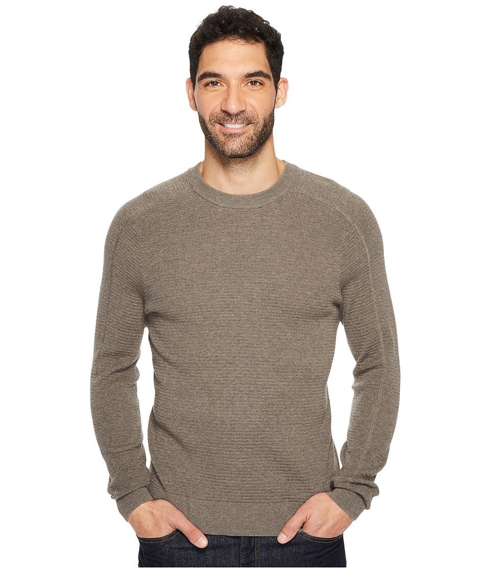 Royal Robbins All Season Merino Thermal Crew Sweater (Turkish Coffee) Men