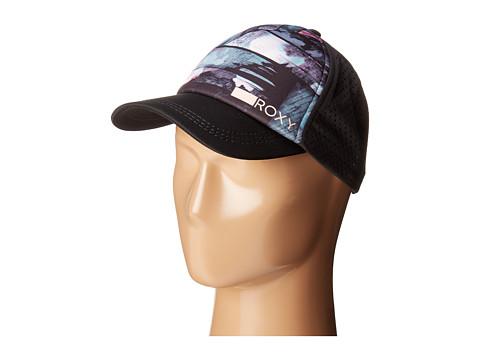 Roxy Waves Machines Trucker Hat - Anthracite Blur Paint