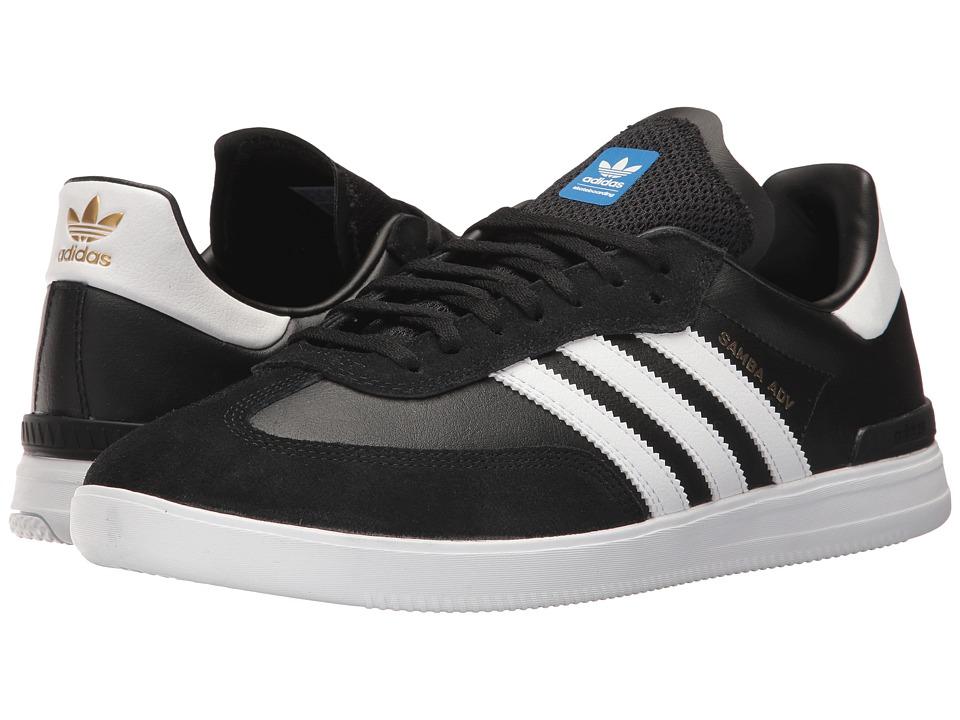 adidas Skateboarding - Samba ADV (Core Black/Footwear Whi...