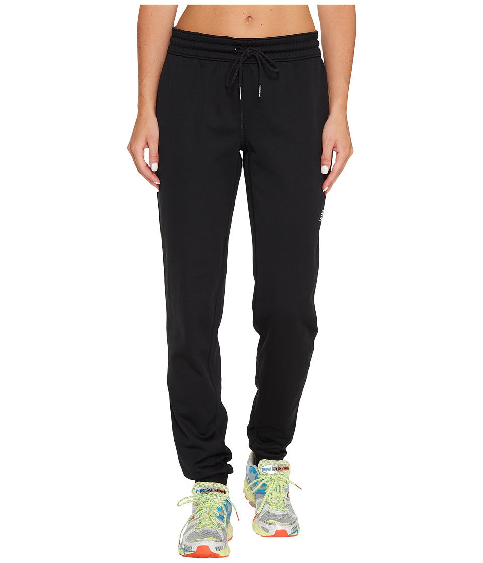 New Balance - Accelerate Fleece Joggers (Black) Womens Workout