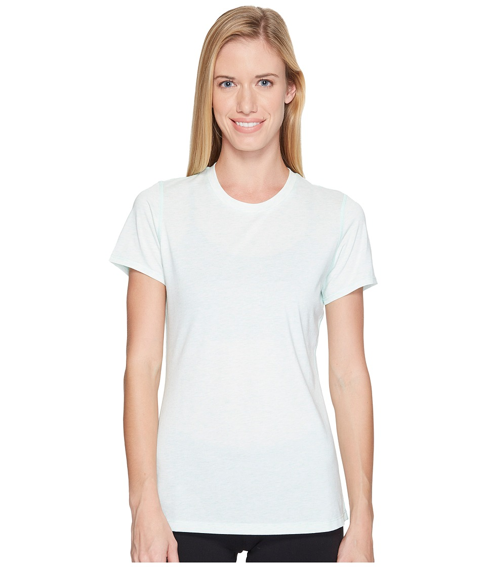 New Balance Heather Tech Tee (Water Vapor Heather) Women