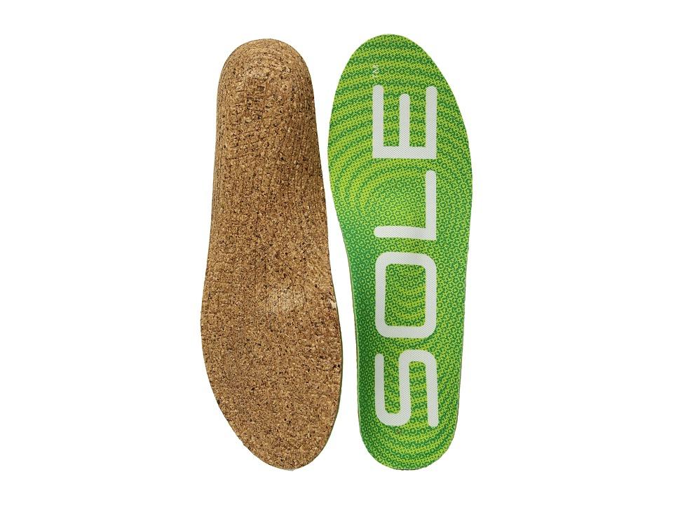 SOLE - Active Medium + Met Pad (Green 1) Insoles Accessories Shoes