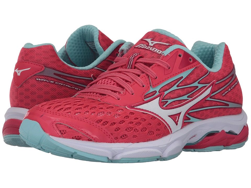 Mizuno - Wave Catalyst 2 (Paradise Pink/White/Clearwater) Women's Running Shoes
