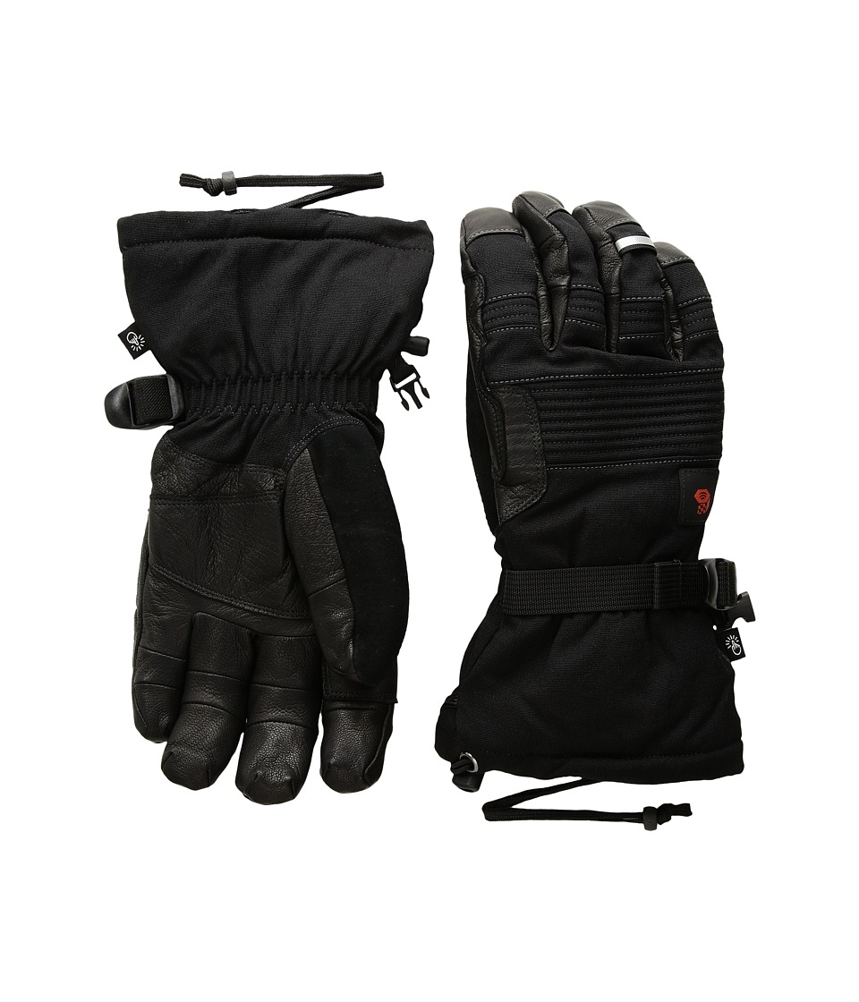 Mountain Hardwear Cyclone Gloves (Black) Extreme Cold Weather Gloves