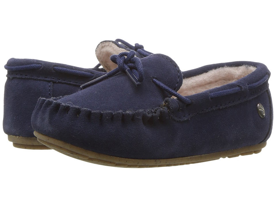 EMU Australia Kids Amity (Toddler/Little Kid/Big Kid) (Midnight) Kids Shoes