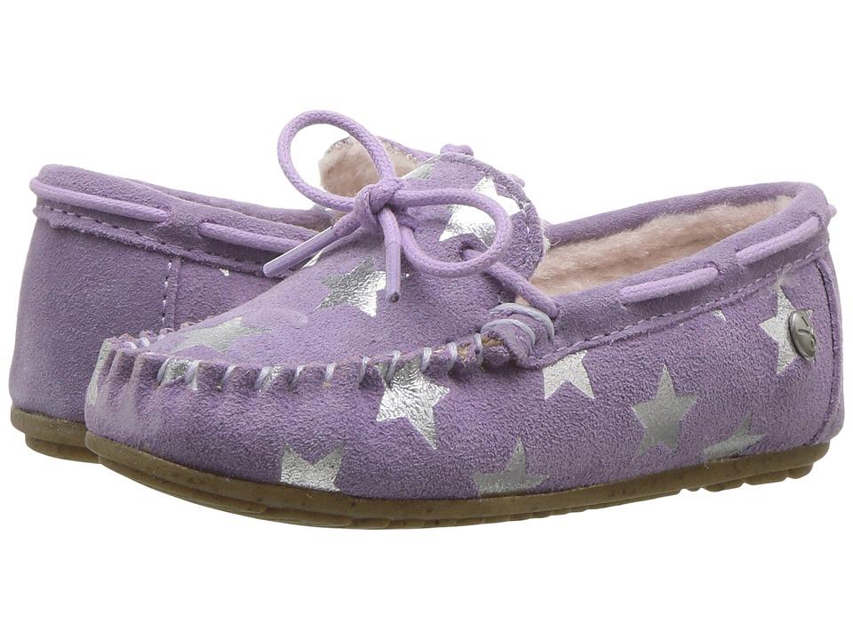 EMU Australia Kids Amity Star (Toddler/Little Kid/Big Kid) (Lavender) Girls Shoes