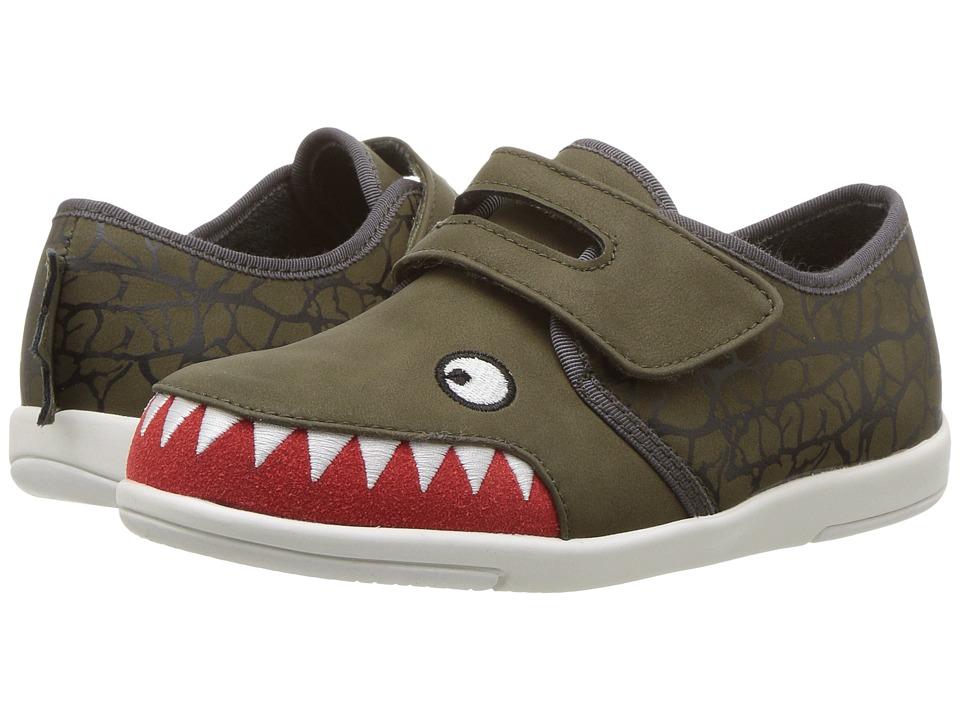 EMU Australia Kids Croc Sneaker (Toddler/Little Kid/Big Kid) (Khaki) Boys Shoes