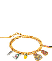Marc Jacobs - Charms Wonderland Toast My Heart Charm Bracelet