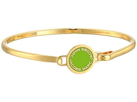 Marc Jacobs Logo Disc Enamel Logo Disc Hinge Bracelet