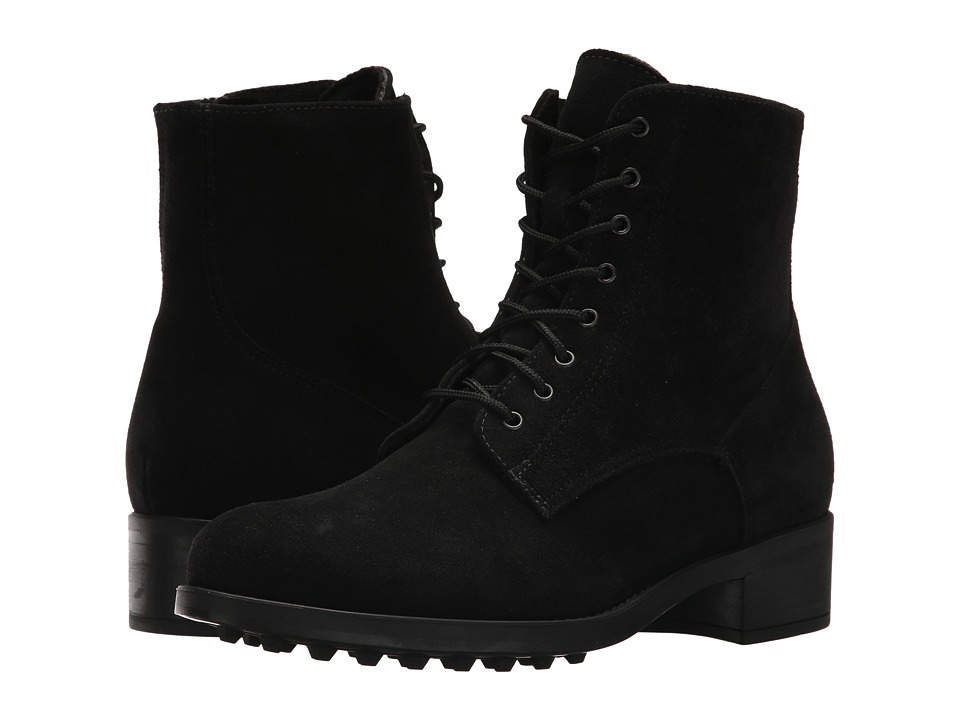 La Canadienne Savanna (Black Suede) Women