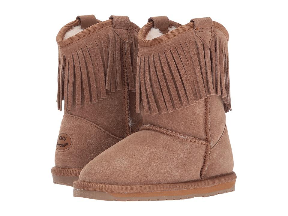 EMU Australia Kids Glaziers (Toddler/Little Kid/Big Kid) (Chestnut) Girls Shoes