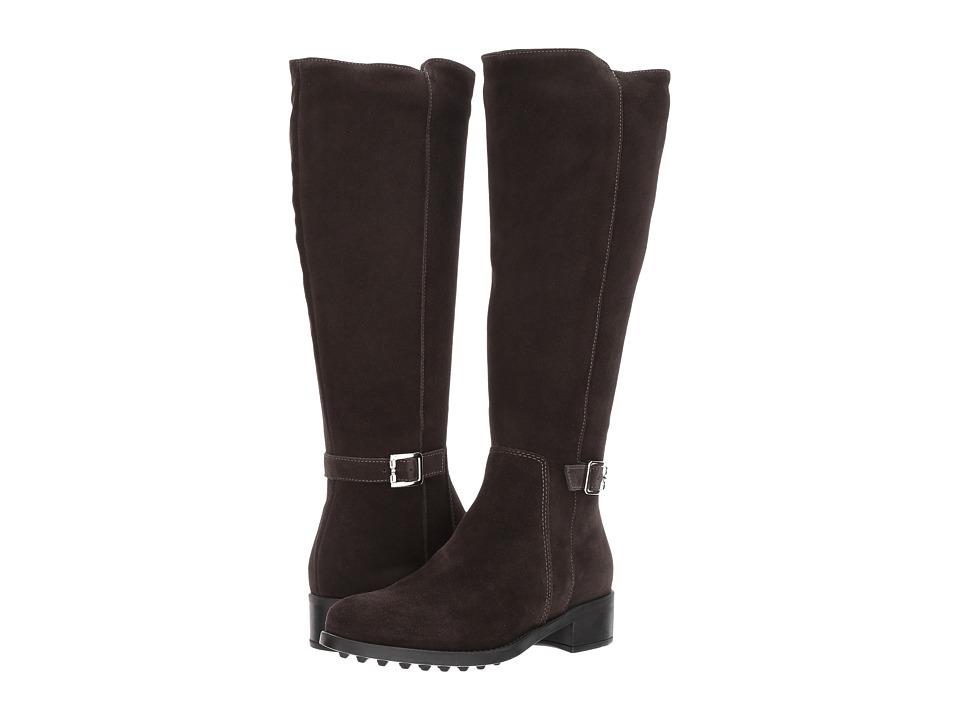 La Canadienne - Silvana (Espresso Suede) Womens Boots