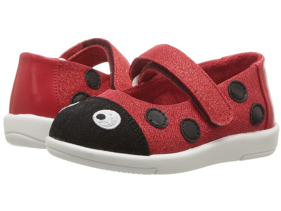 EMU Australia Kids Ladybug Ballet (Toddler/Little Kid/Big Kid) (Red) Girls Shoes