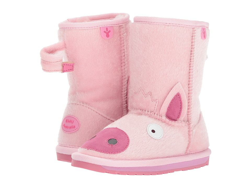 EMU Australia Kids - Little Creatures Piggy (Toddler/Little Kid/Big Kid) (Pale Pink) Girls Shoes