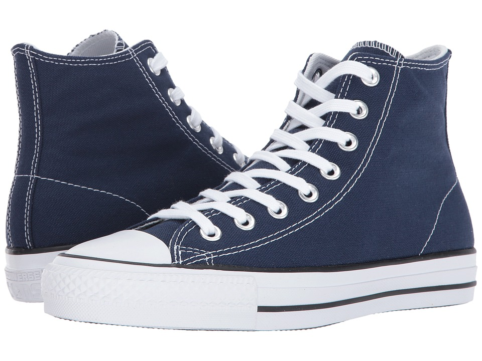 Converse Skate CTAS Pro Hi (Midnight Navy/White) Shoes