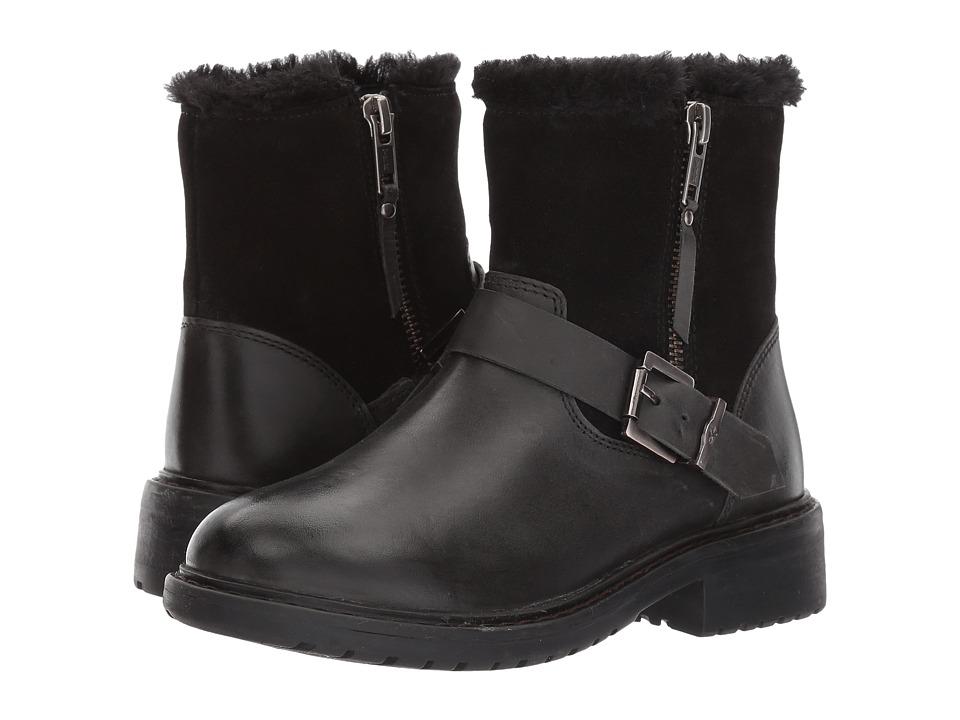 EMU Australia Kids Roadside Teens (Little Kid/Big Kid) (Black) Girls Shoes