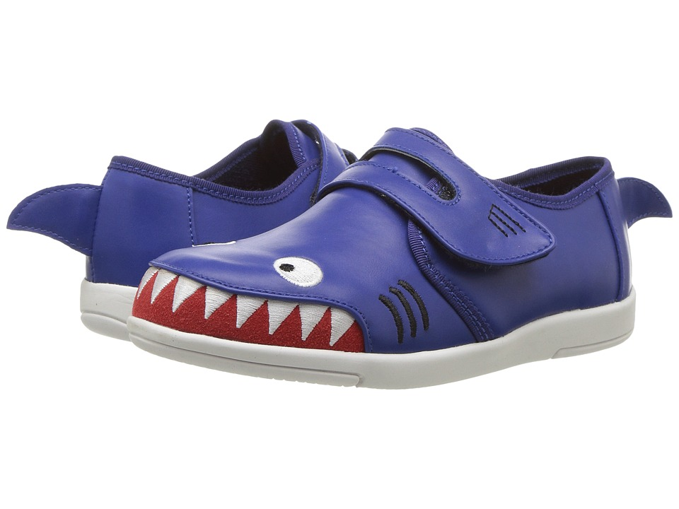 EMU Australia Kids Shark Fin Sneaker (Toddler/Little Kid/Big Kid) (Indigo) Boys Shoes