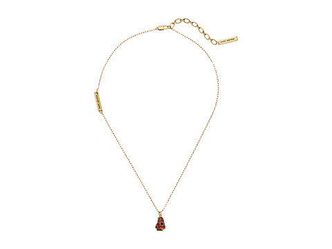 Marc Jacobs Charms Wonderland Mushroom Pendant Necklace - Red Multi