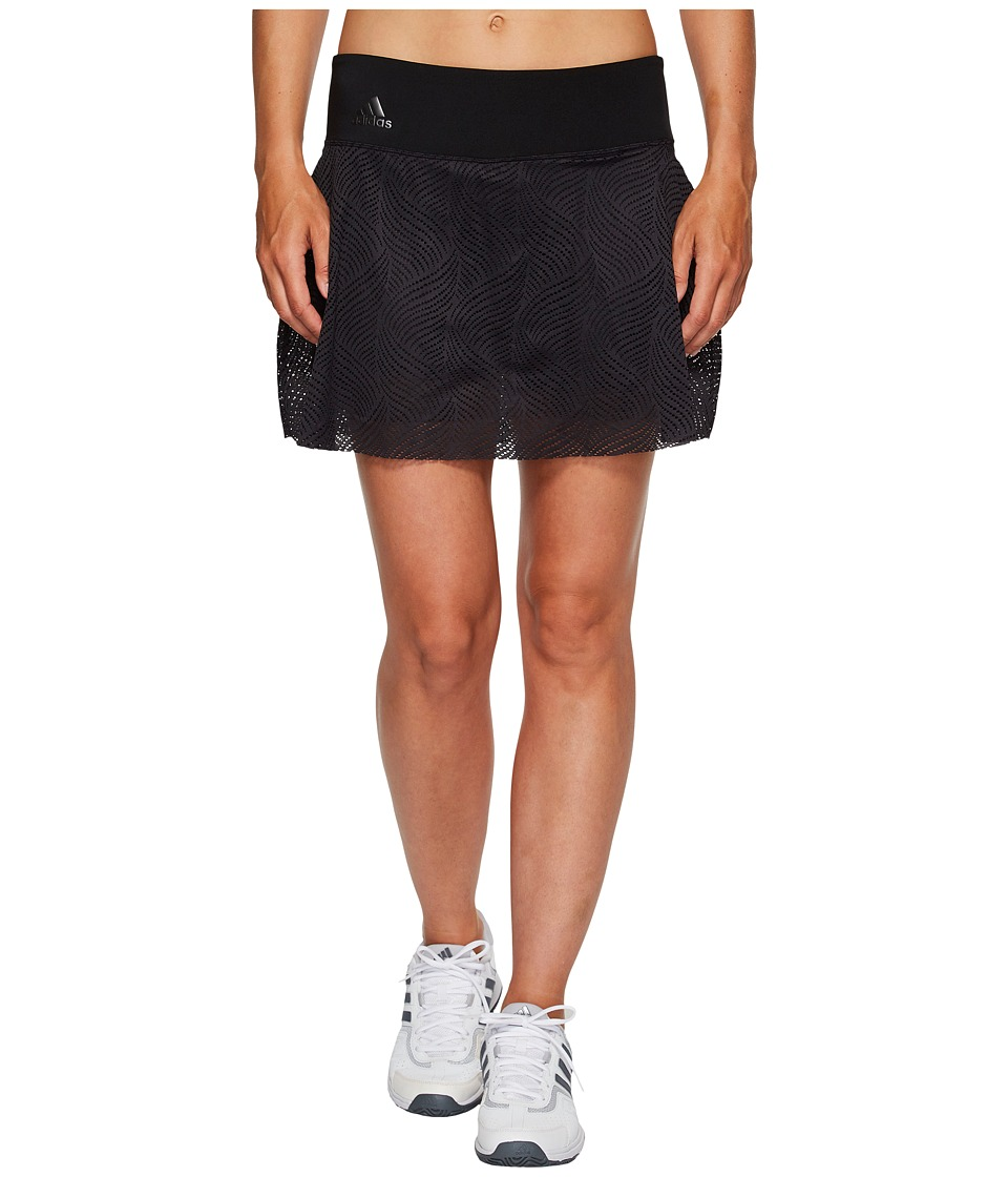 adidas - London Line 13 Skirt (Black) Women's Skirt