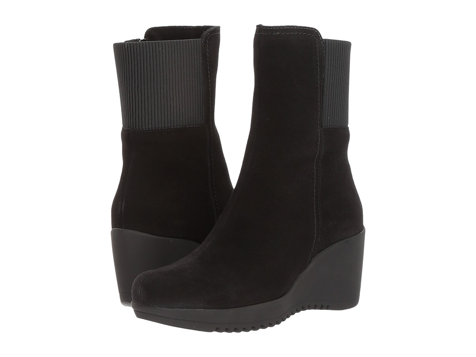 La Canadienne Gwyn (Black Suede)