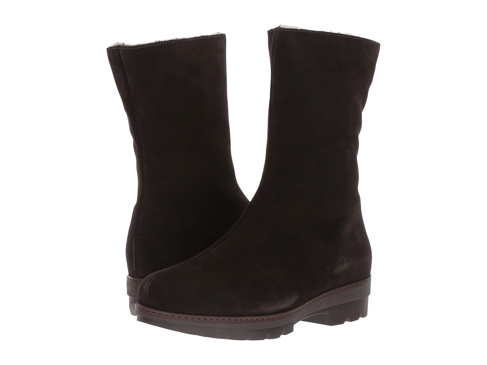 La Canadienne - Vogue (Espresso Suede/Shearling Lined) Womens Cold Weather Boots