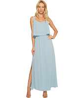 Vince Camuto - Sleeveless Pop Over Maxi Dress w/ Side Slits