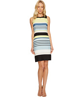 Vince Camuto - Sleeveless Stripe Harmony Shift Dress