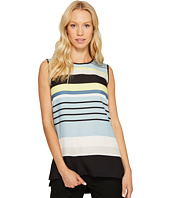 Vince Camuto - Sleeveless Stripe Harmony Knit Back Top