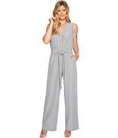 Vince Camuto - Sleeveless Belted Jumpsuit