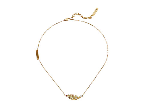 Marc Jacobs Charms Celestial Pearl Rocket Pendant Necklace