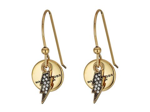 Marc Jacobs MJ Coin Lightning Earrings